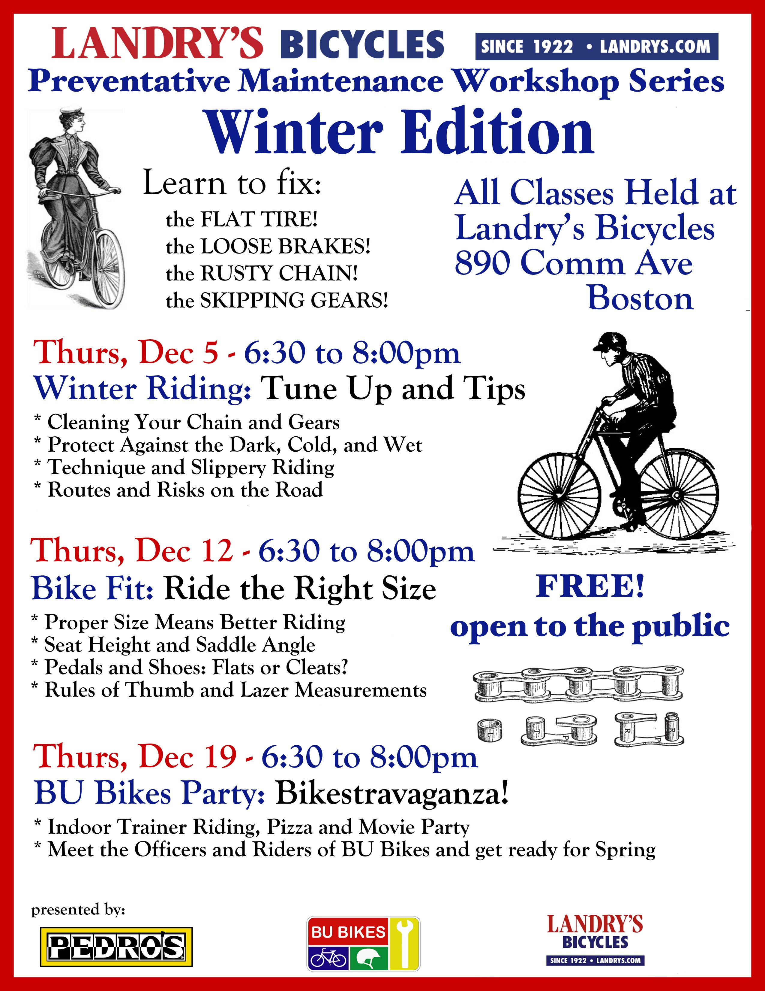 Landrys BU Bikes Winter falt